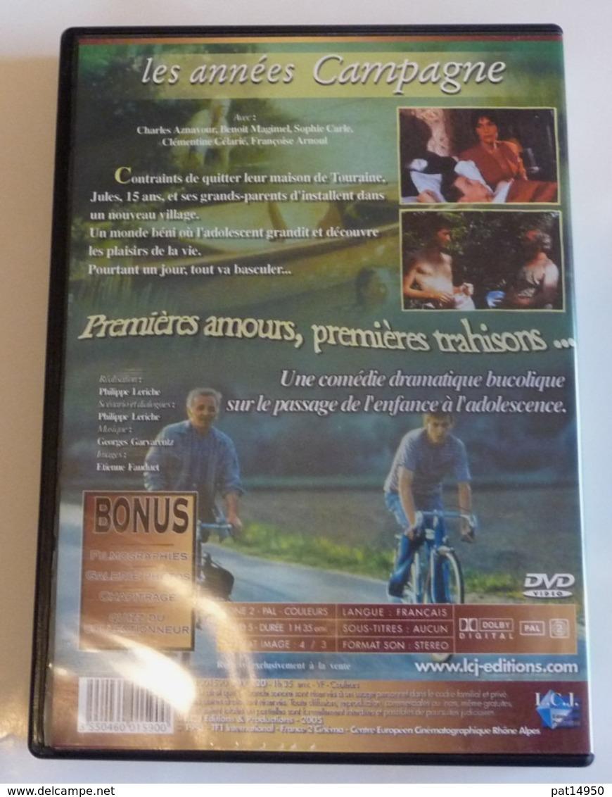 DVD LES ANNEES CAMPAGNE Avec Ch AZNAVOUR   B MAGIMEL F ARNOUL - Komedie