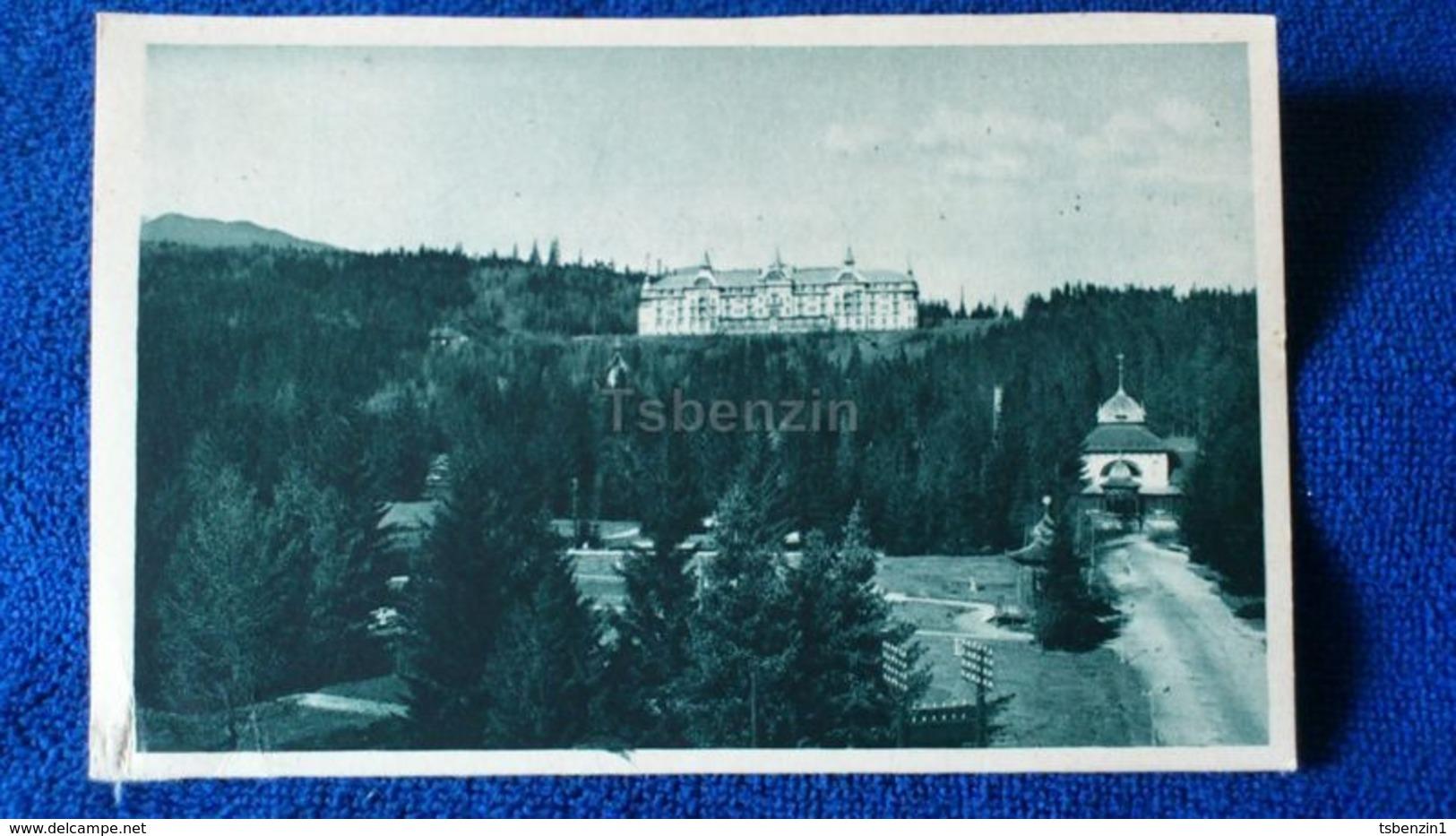 Vysoké Tatry Grandhotel Praha V Tatranské Lomnici Slovakia - Slovacchia
