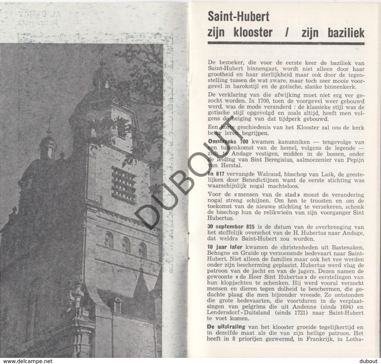 SAINT HUBERT - De Basiliek Van Sint-Hubertus - M.Dessoy (R352) - Boeken, Tijdschriften, Stripverhalen