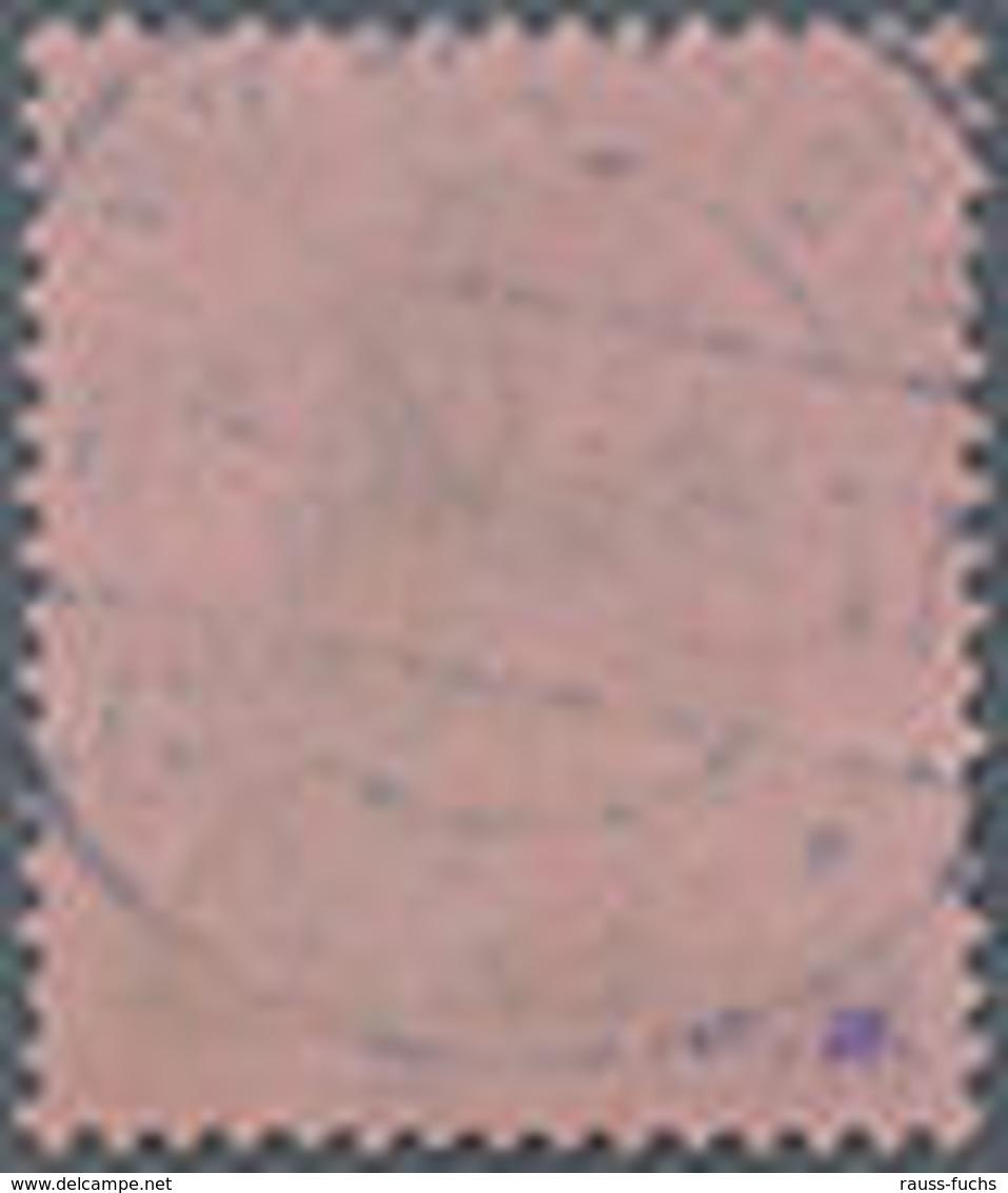 1920, 80 Pf. Germania Mit Aufdruck Sarre,ideal Gestempelt, Lt. FFB Braun Echt Und Einwandfrei, Mi. 360.- - Saar