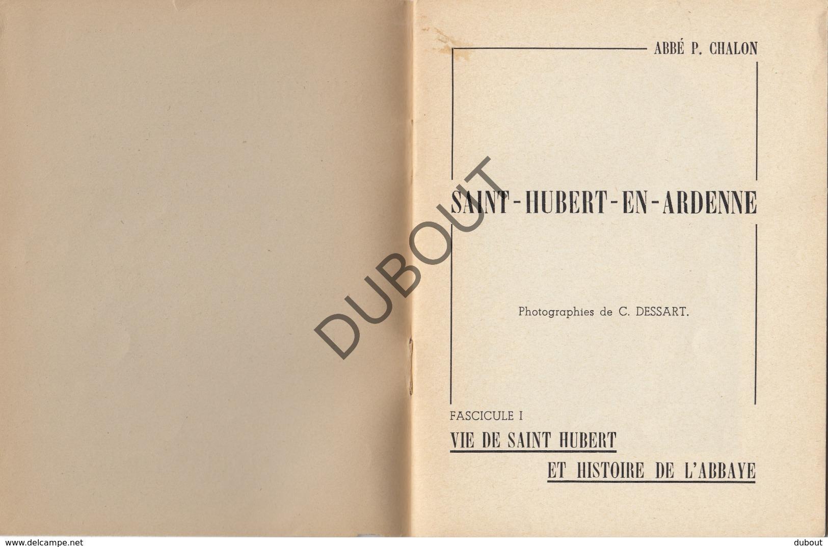 SAINT HUBERT EN ARDENNE - P. Chalon - Vie De St-Hubert 1950 Avec Des Illustrations (R336) - Boeken, Tijdschriften, Stripverhalen