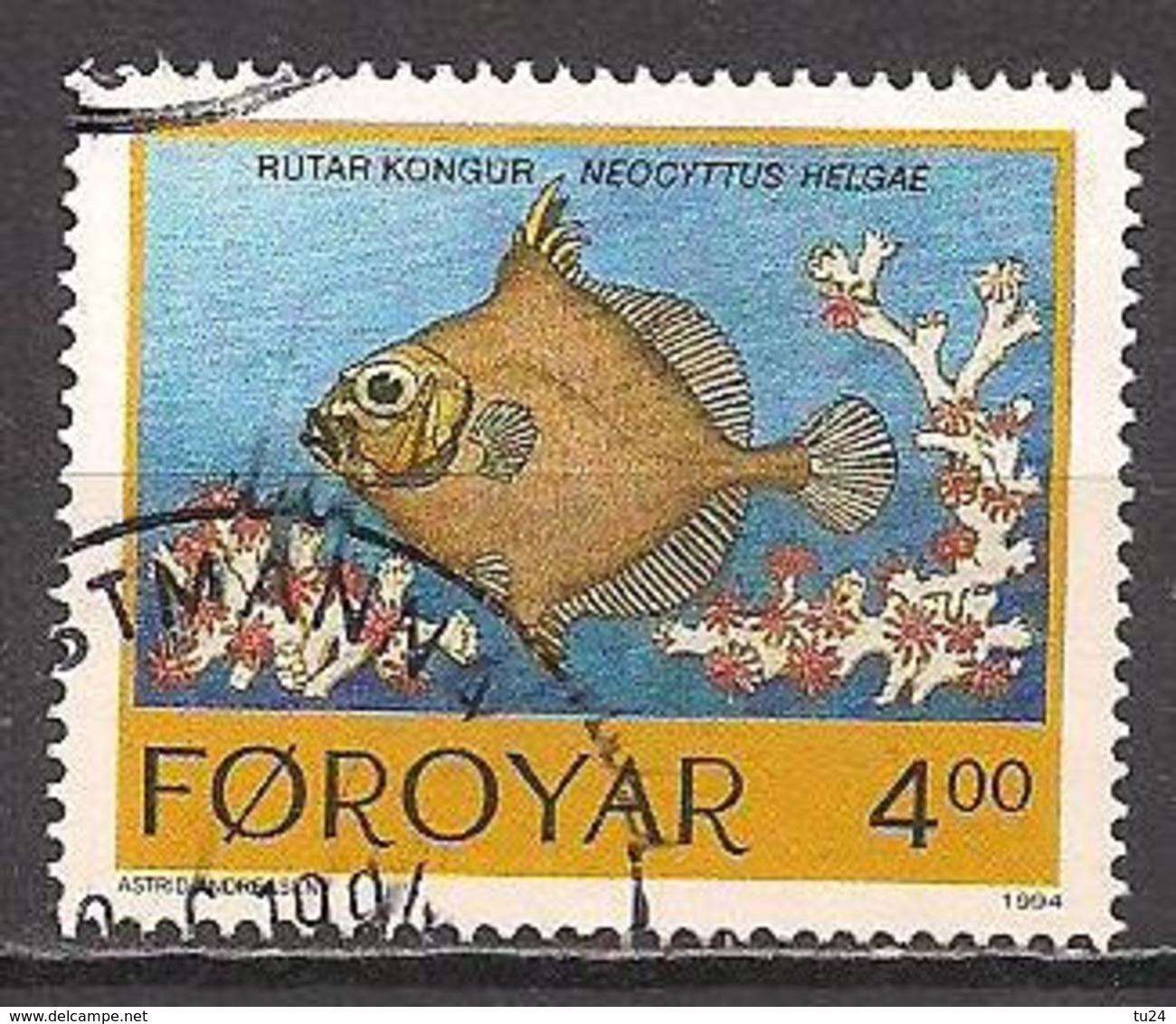 DK - Färöer  (1994)  Mi.Nr.  257  Gest. / Used  (4fj18) - Färöer Inseln