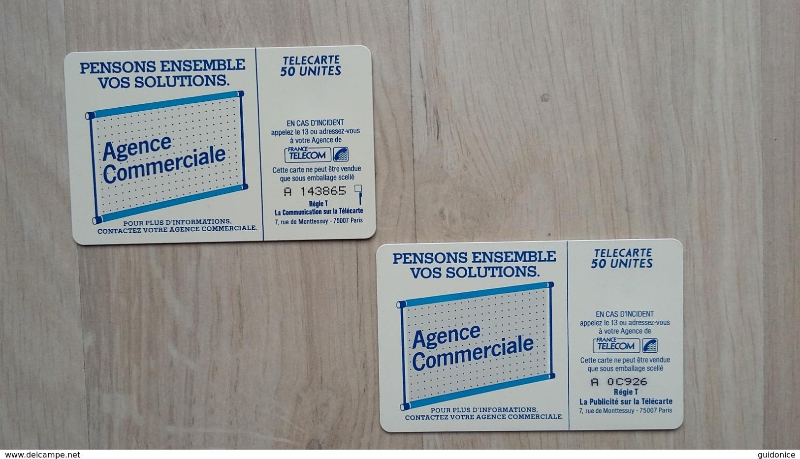 France Telecom  - Telecarte 50 - 2 Exemplare - Zonder Classificatie