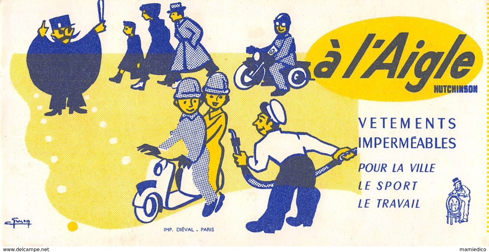 12 BUVARDS,Thèmes Divers, Tous Scannés.Etat Correct( ATTENTION: Les Taches Sont Accentuées Par Le Scan). Lot N° 4 - Colecciones & Series