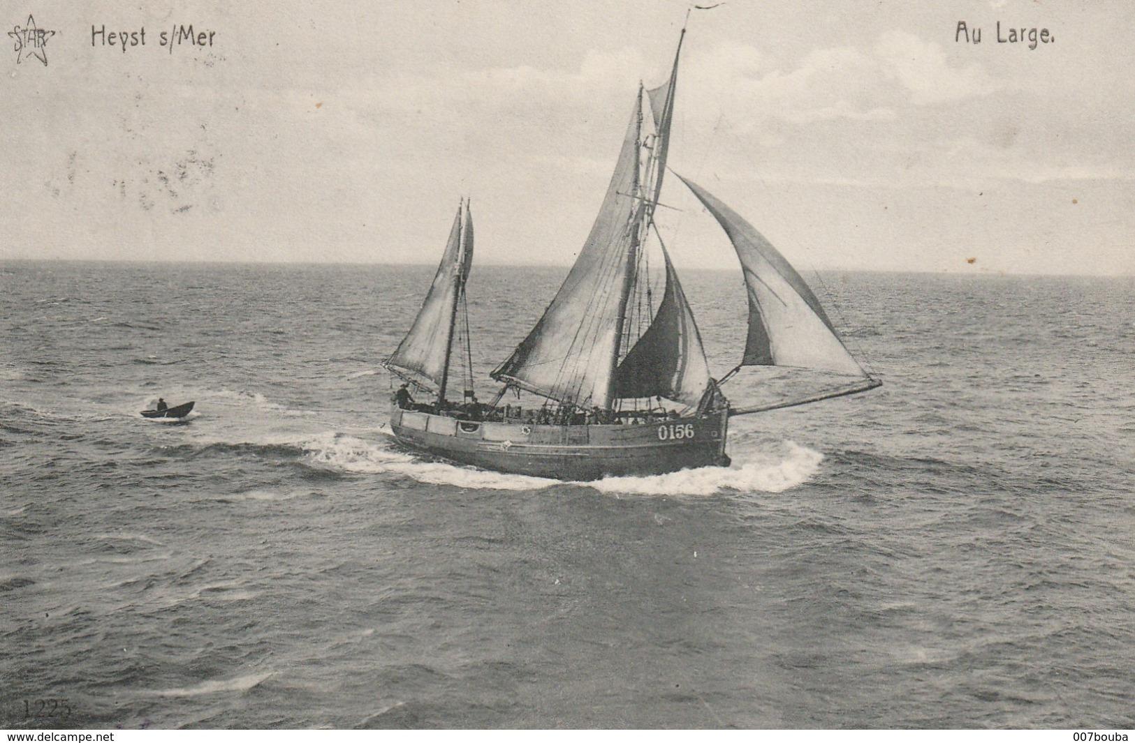 Heist-sur-Mer - Au Large - Edition Star - Héliotypie De Graeve - Voyagée +- 1913 - Heist