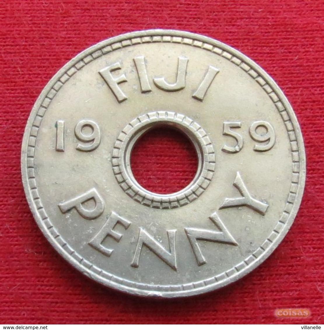 Fiji 1 One Penny 1959 KM# 21 - Figi