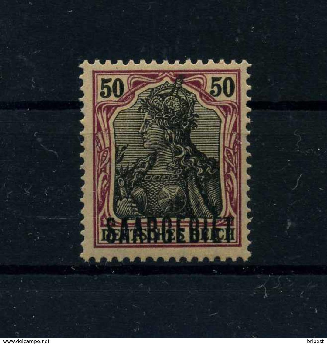 SAARGEBIET 1920 Nr 13y Postfrisch (113302) - Settori Di Coordinazione