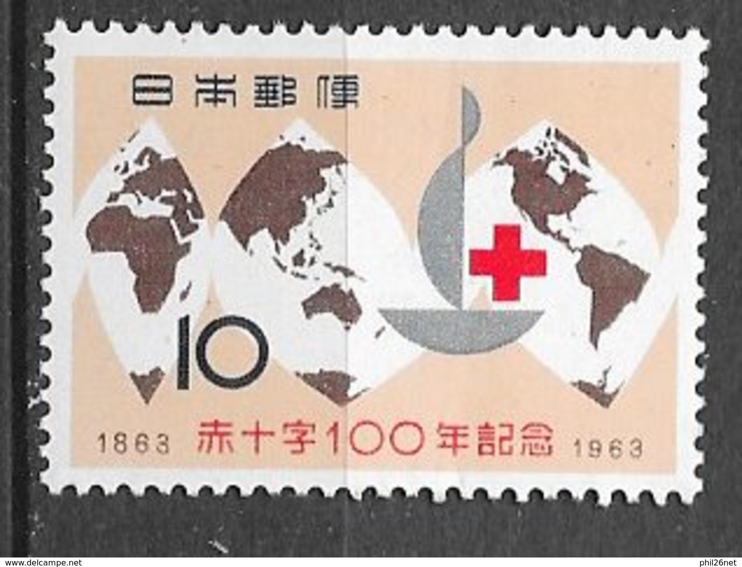 Japon   N°  738  Croix Rouge   Neuf * *  = MNH  VF       Soldé ! ! !        Le Moins Cher Du Site ! ! ! - Puppen