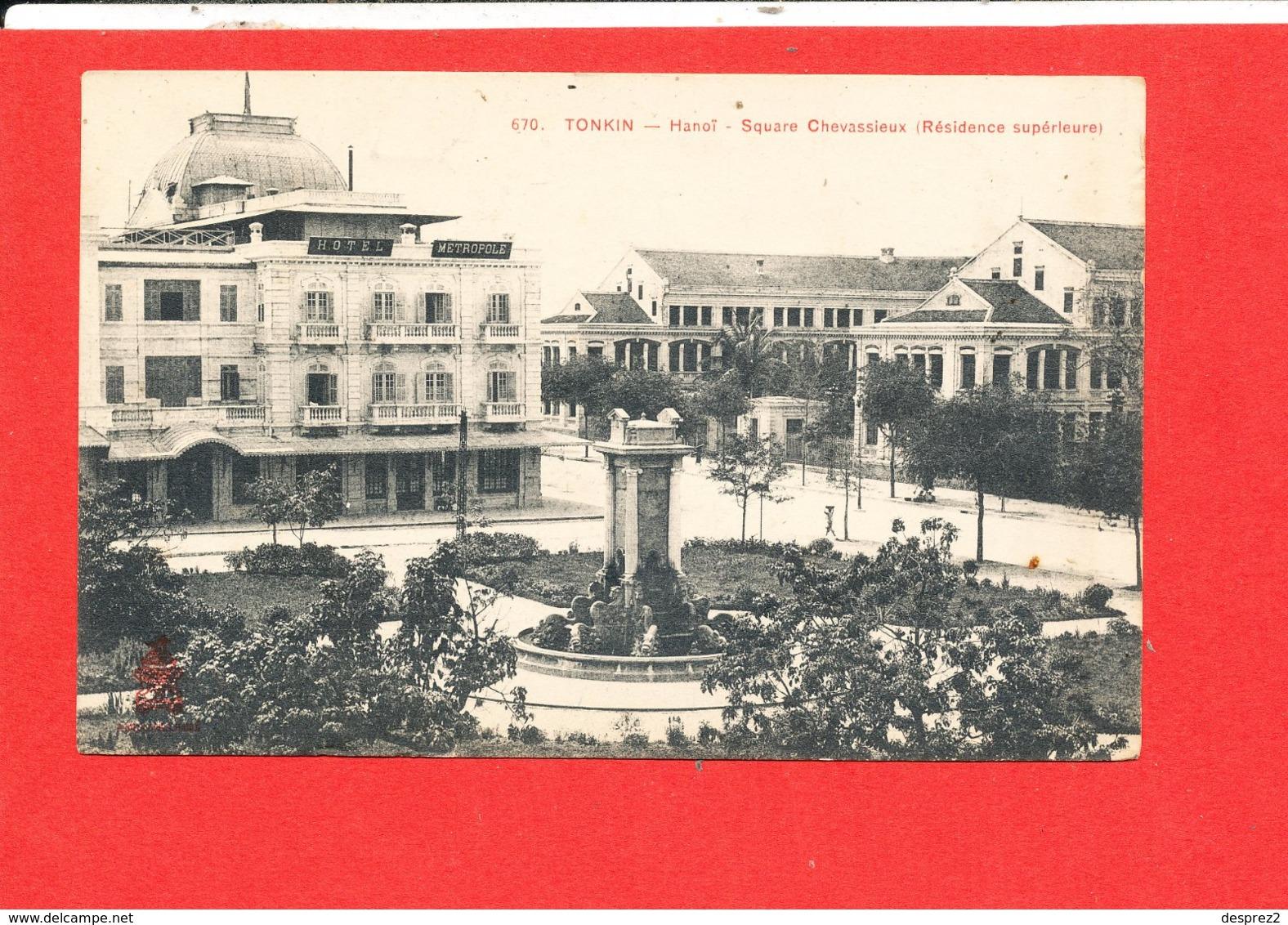 TONKIN HANOI Cpa Square Chevassieux        670 - Viêt-Nam