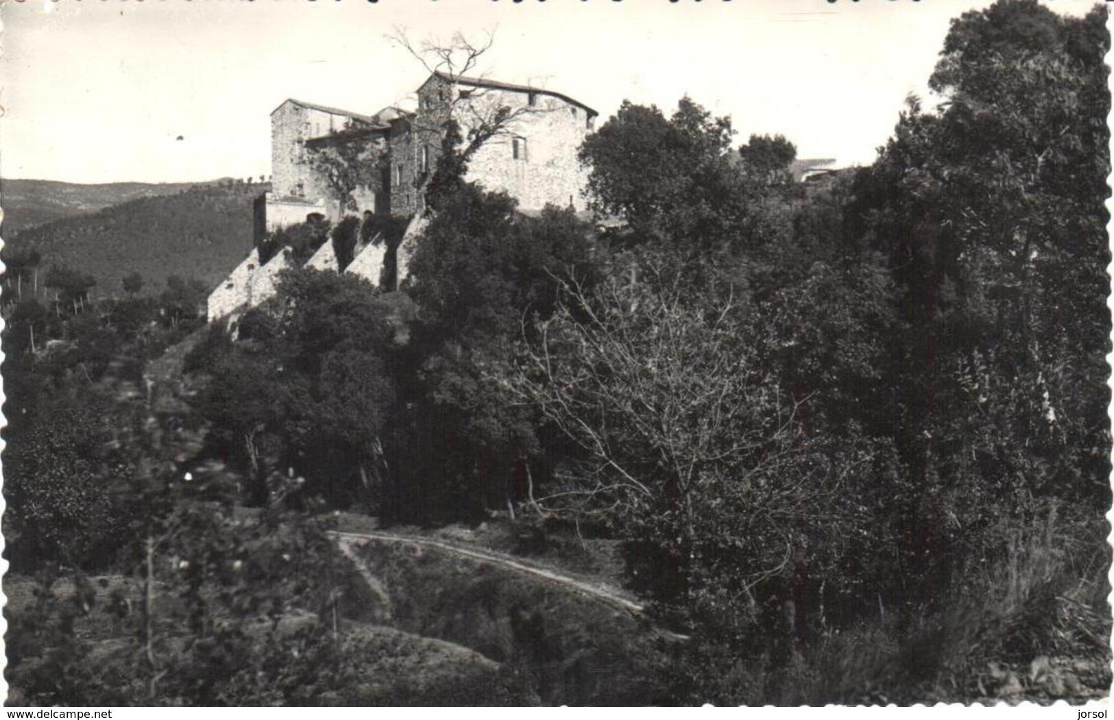 POSTAL    SENTMENAT  -BARCELONA  - CASTILLO DEL MARQUESADO DE SENTMENAT - Spagna