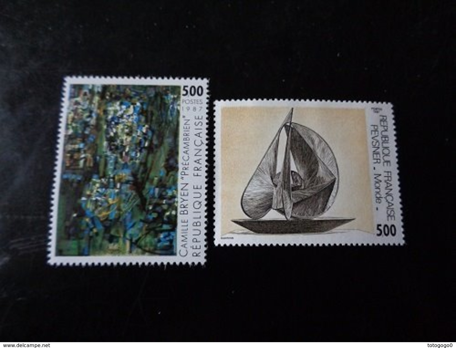 FRANCE  1987    N° 2493-2494   NEUF**    20% - Frankrijk