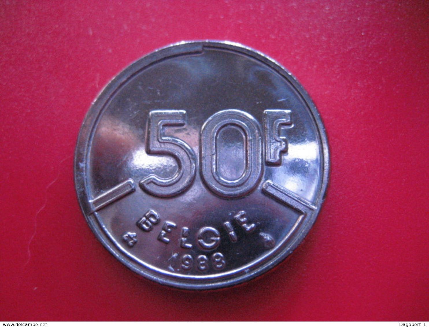 50 Francs 1988 Belgie - Belgium - 1951-1993: Baudouin I