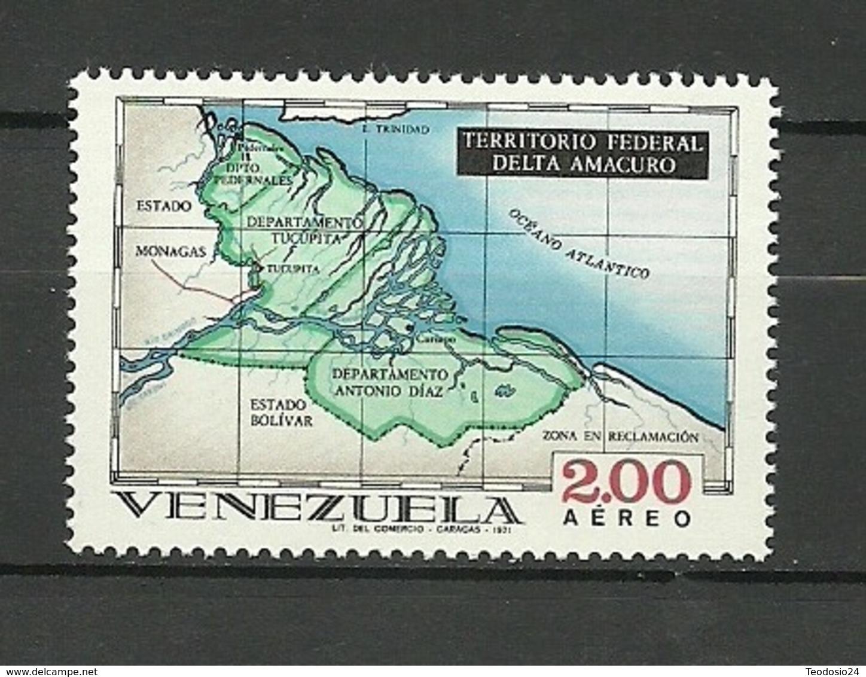 Venezuela ** Mnh 1971  ** Mnh  DELTA AMACURO - Venezuela