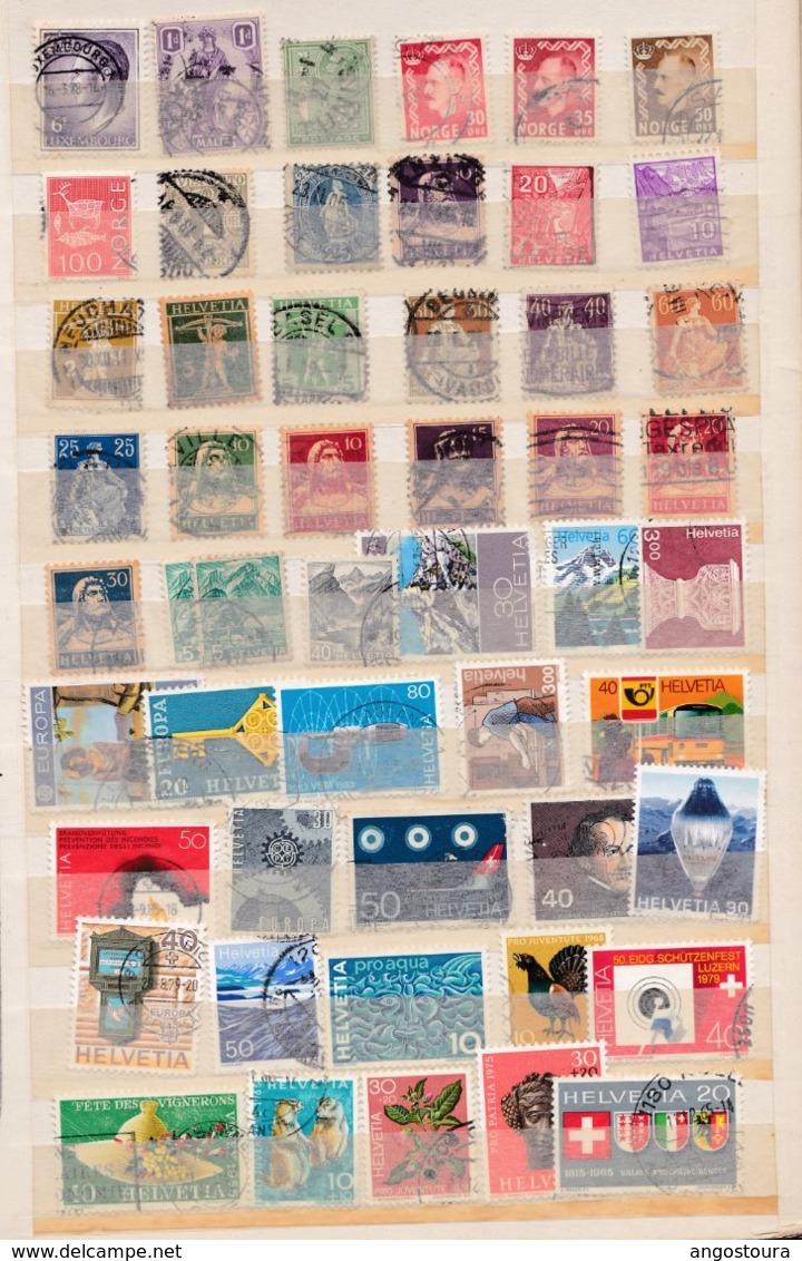 1000 Timbres Du Monde Neufs Et Oblitérés Sans La France (  Doubles Non Comptés) - Briefmarken
