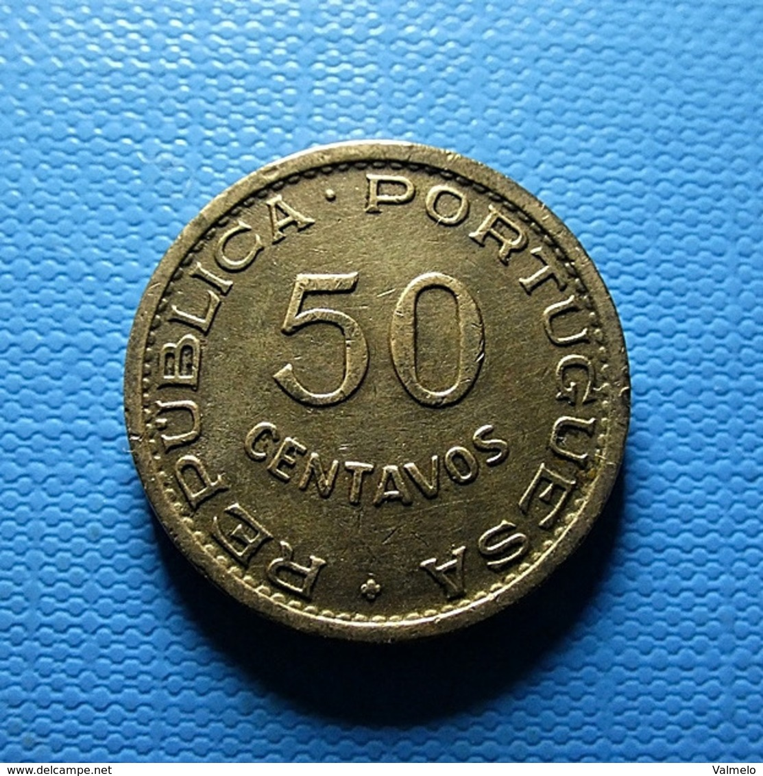 Portuguese S. Tomé E Príncipe 50 Centavos 1962 - Portugal