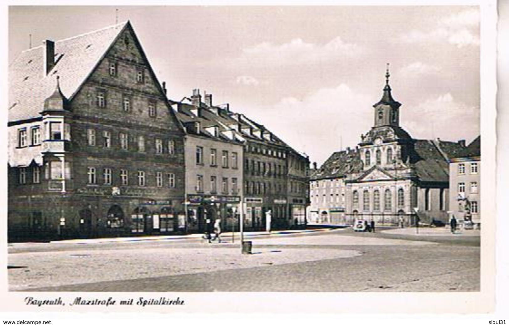 BAYREUTH  TBE  AL378 - Bayreuth