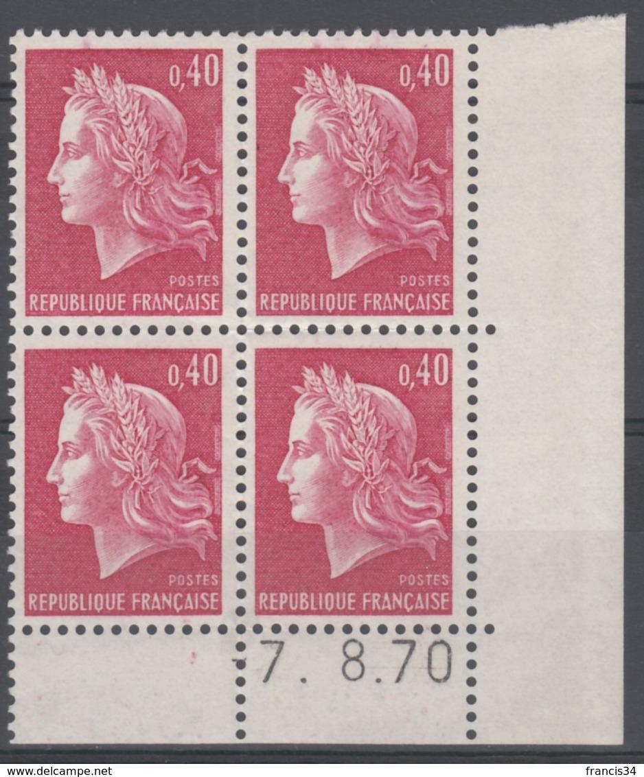 N° 1536 B Daté 07/08/70 - X X - - Ecken (Datum)