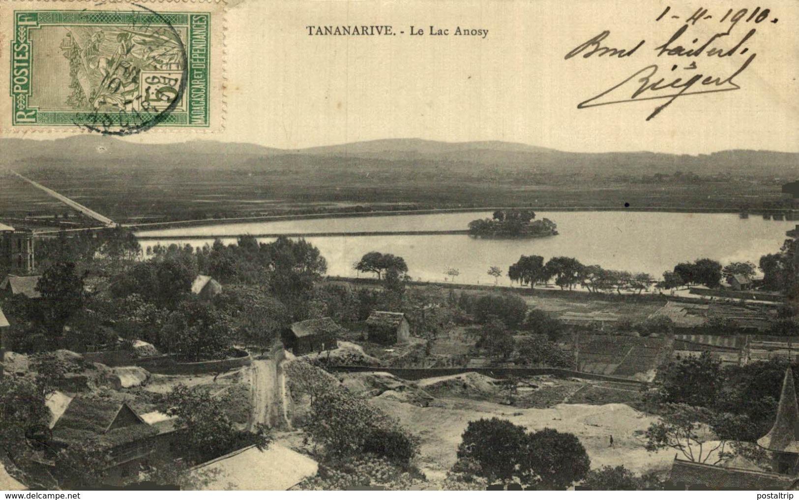 TANANARIVE LE LAC ANOSY - Madagascar