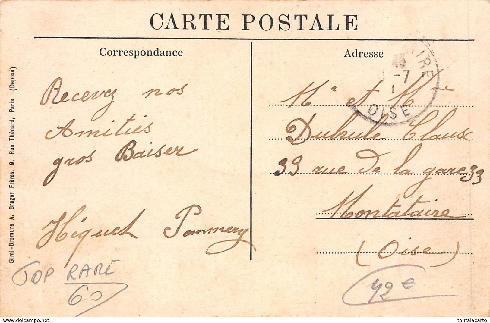 CPA 60 BRESLES VUE DE L USINE H. AMIOT - France