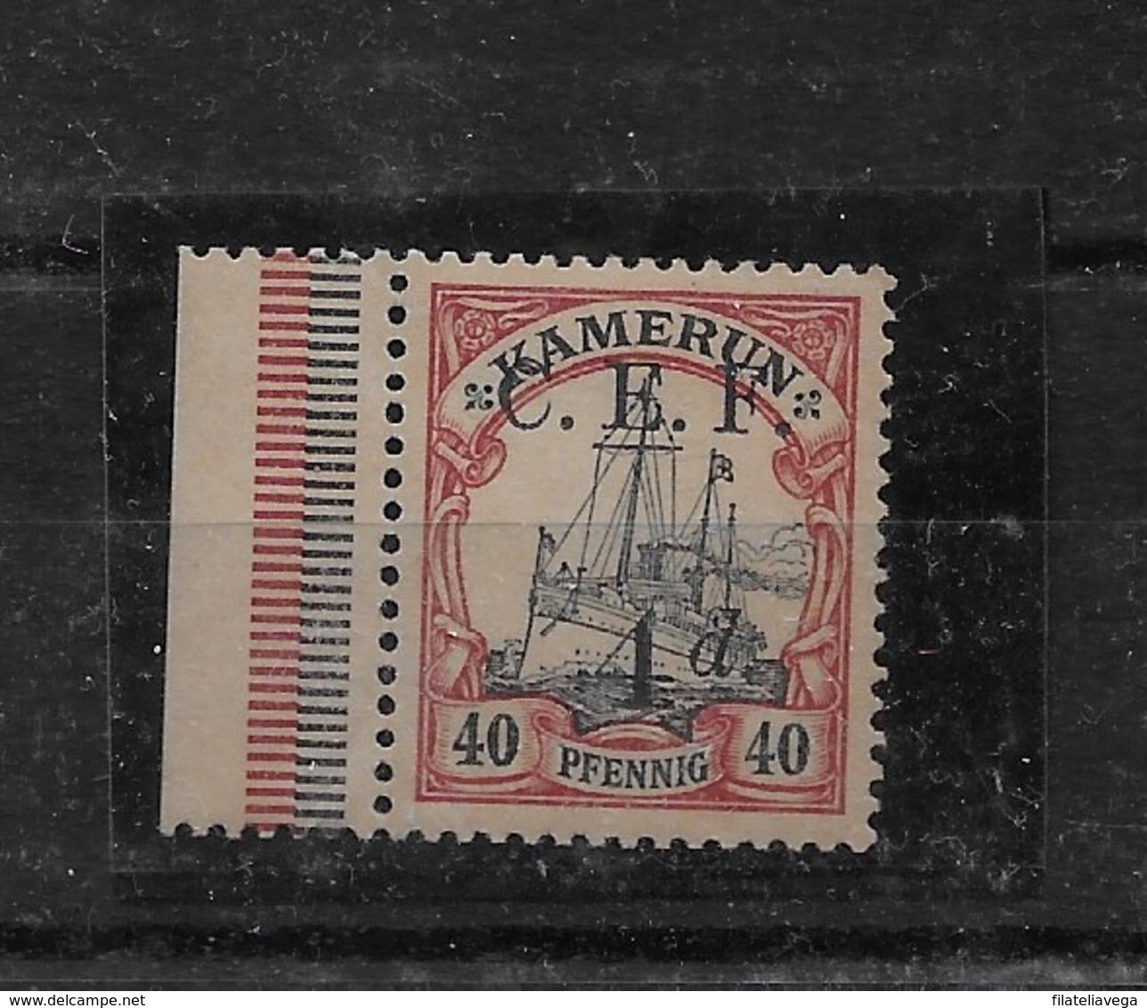 Sello De Camerún-CEF Nº Michel 7 * Valor Catálogo 22.00€ - Colony: Cameroun