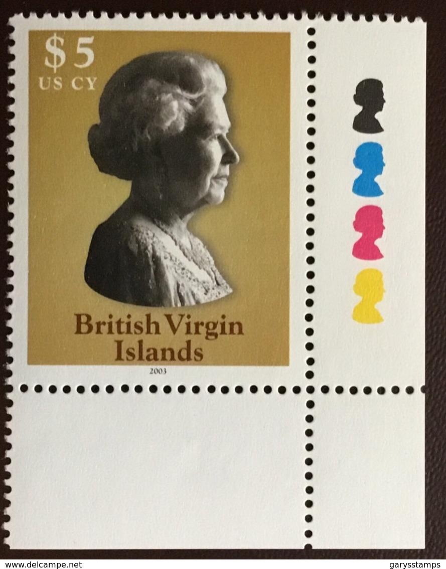 Virgin Islands  2003 $5 Definitive MNH - Iles Vièrges Britanniques