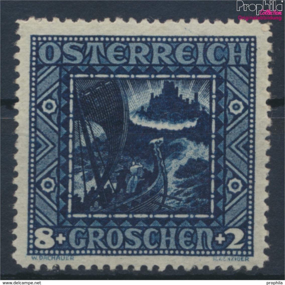 Österreich 489II Querformat Postfrisch 1926 Nibelungen (9351970 - 1918-1945 1. Republik