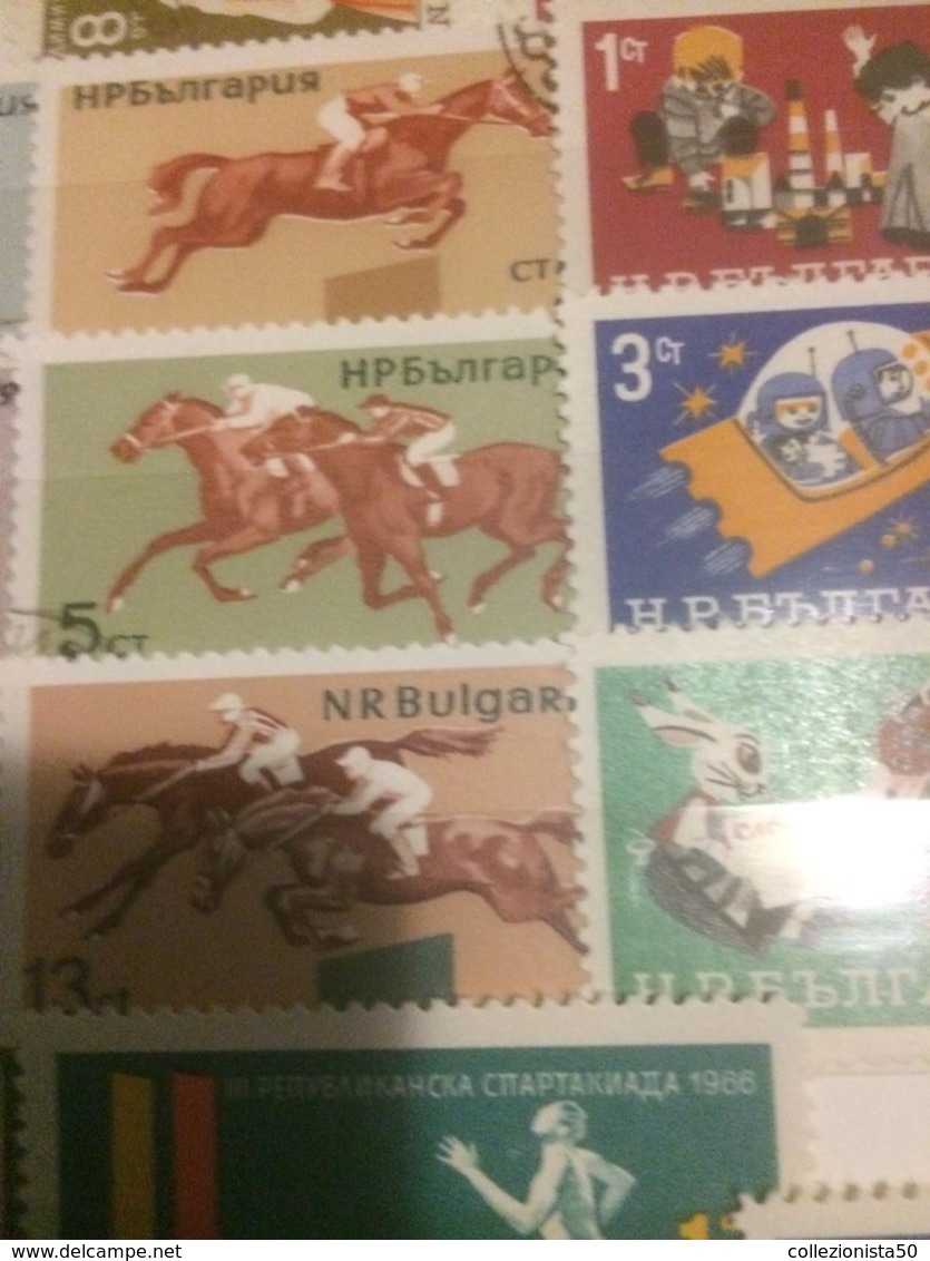 Bulgaria Sport Equitazione 1 Valore - Sonstige - Europa