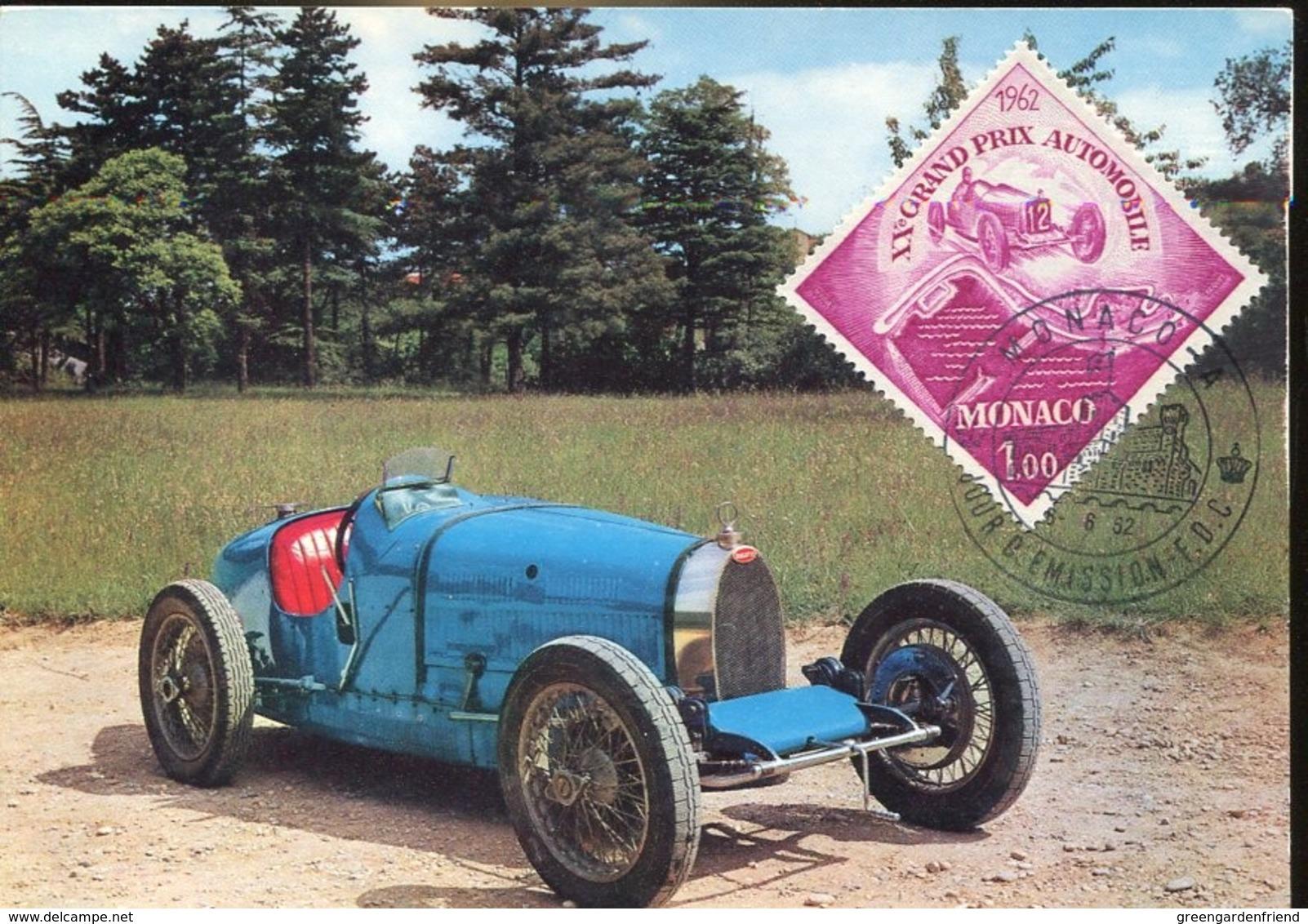 48296 Monaco, Maximum 1962,  Autobobilismo,  Racing Car, Grand Prix 1962 - Cars