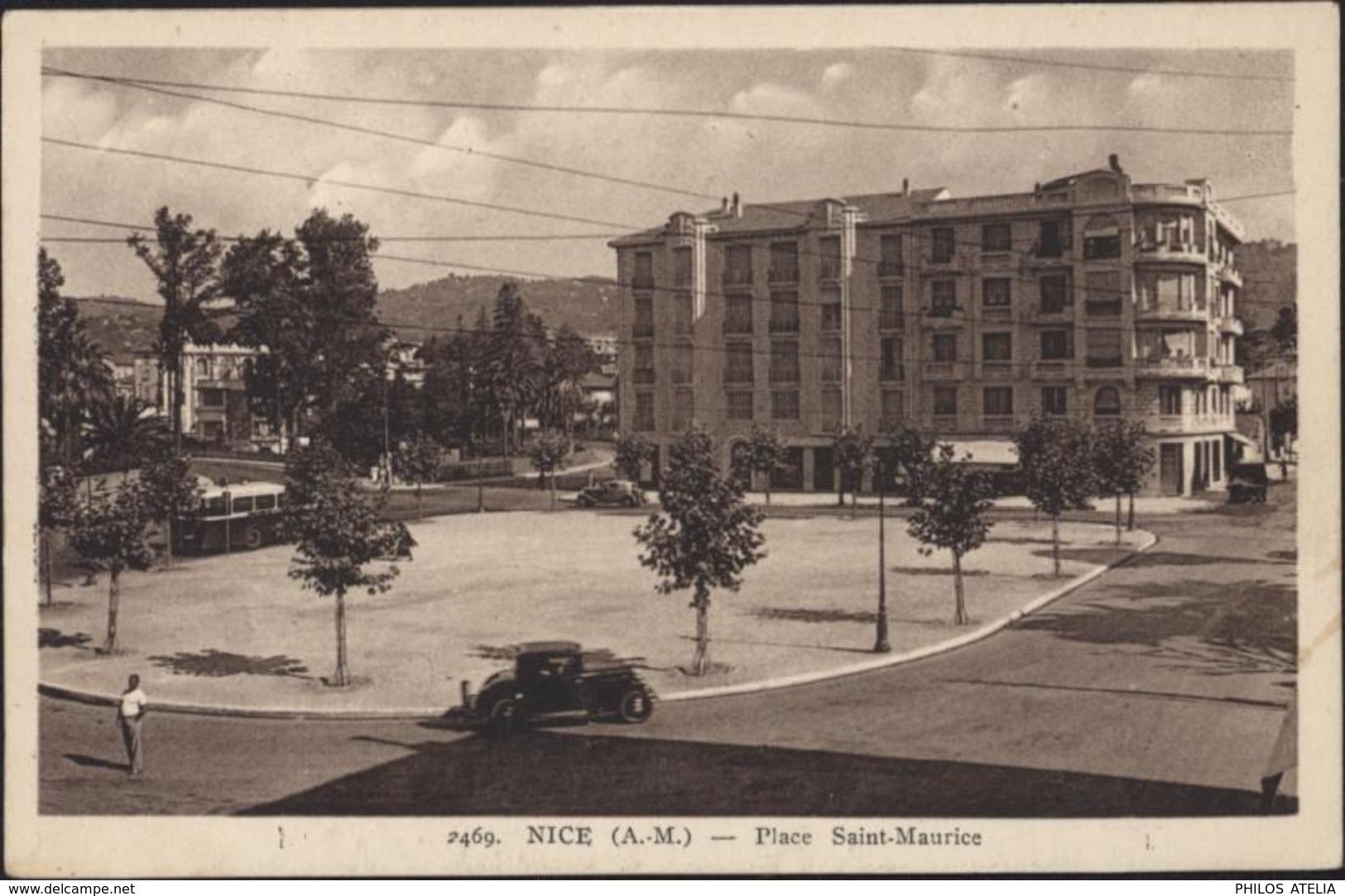 CPA Nice Alpes Maritimes 06 Place St Saint Maurice Edition La Provençale Nice - Piazze