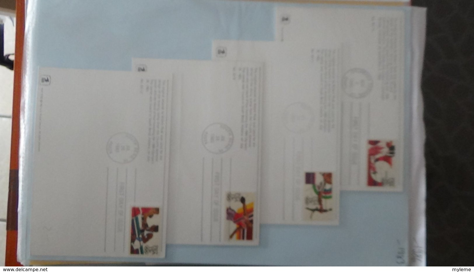 Dispersion D'une Collection D'enveloppe 1er Jour Et Autres Dont 137 Des USA - Sellos