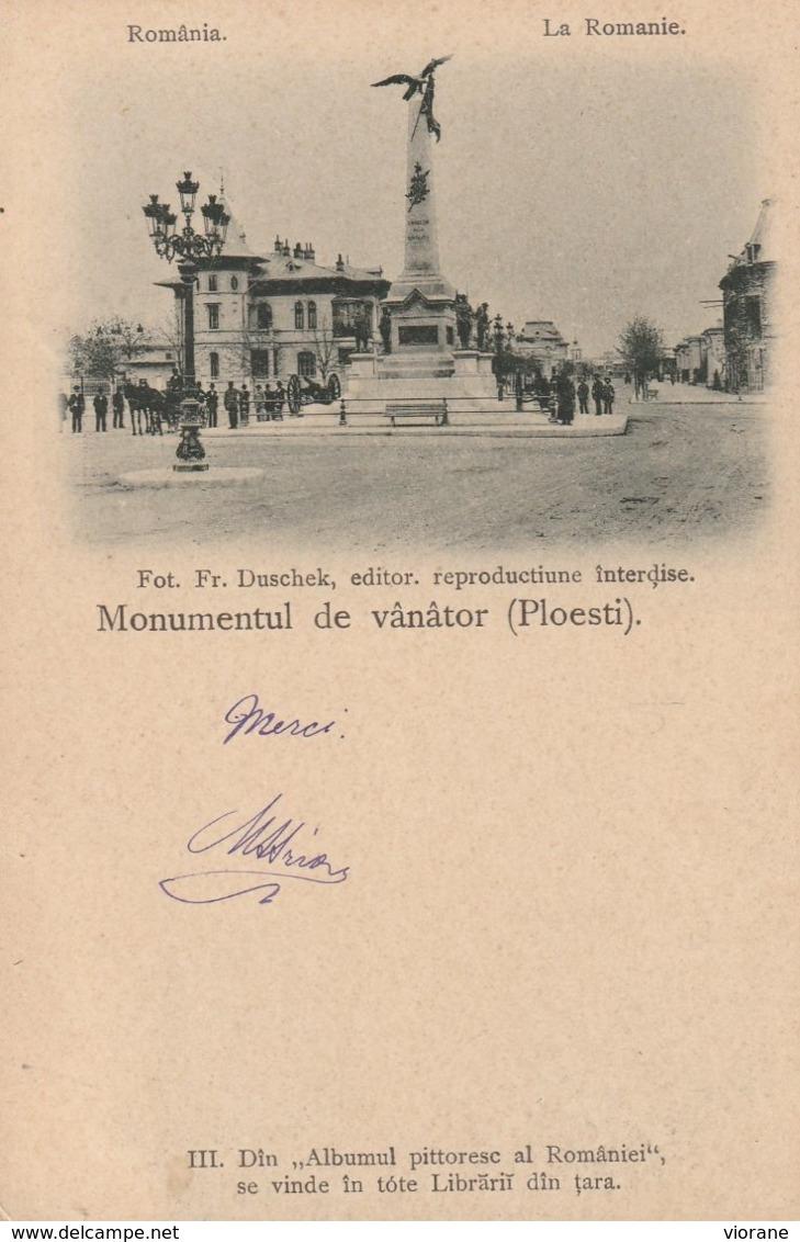 Monumentul De Vânâtor (Ploesti) - Romania