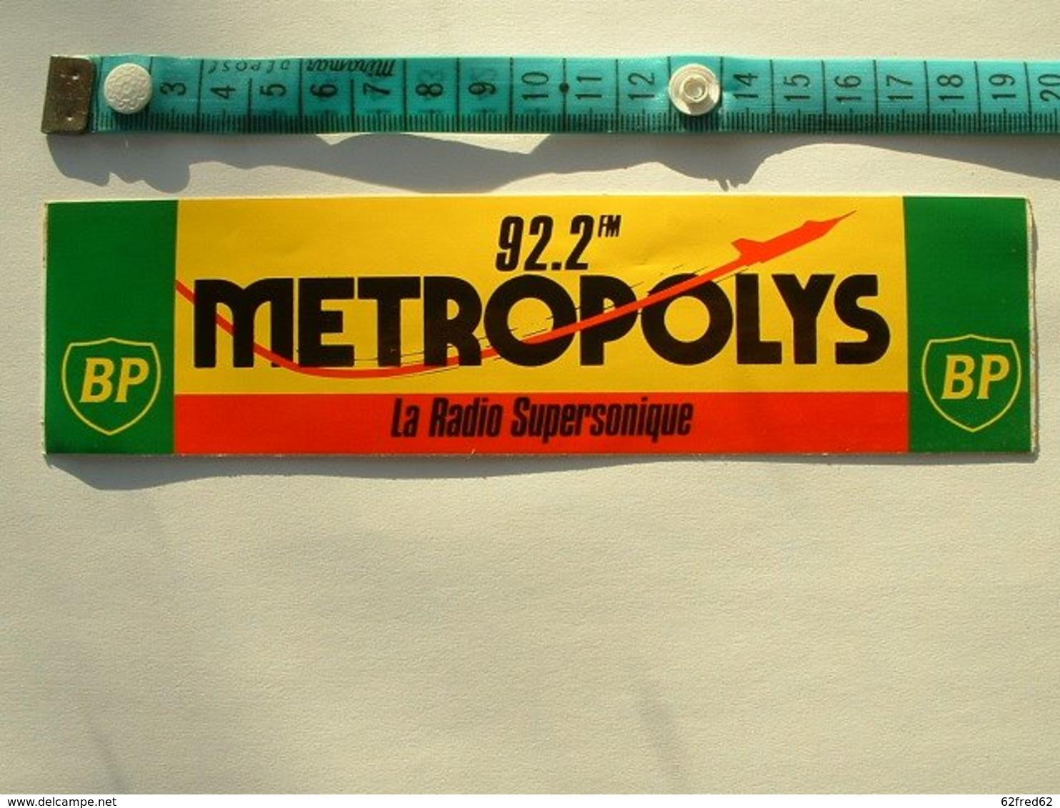 AUTOCOLLANT RADIO METROPOLYS - BP - Aufkleber