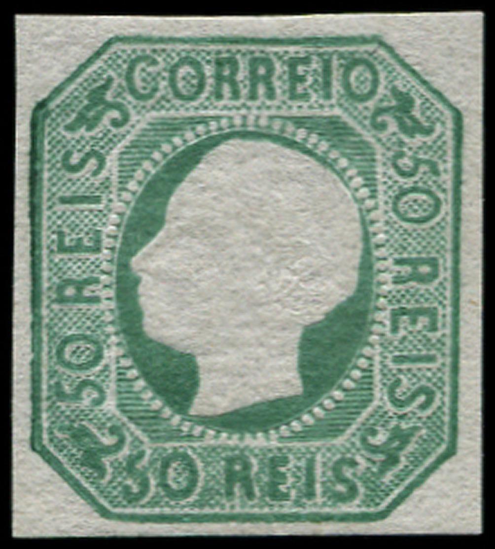 ** PORTUGAL - Poste - 16, Réimpression: 50r. Vert - Portugal