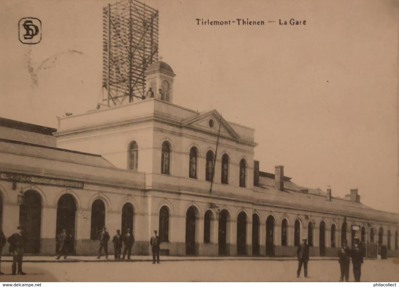 Tirlemont - Tienen - Thienen // LA Gare 1921 - Tienen