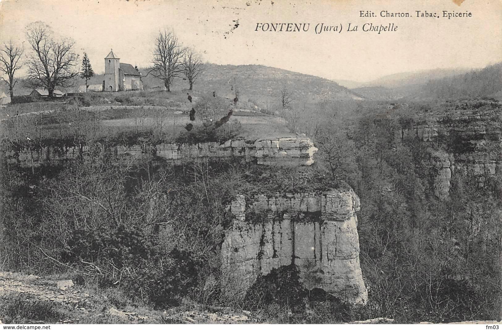 Fontenu Près Chalain Marigny Doucier Clairvaux - Frankrijk