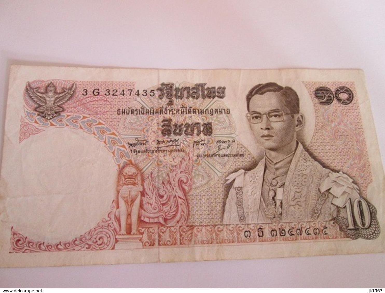 THAILAND 10 BAHT, 1969'1978 - Thailand