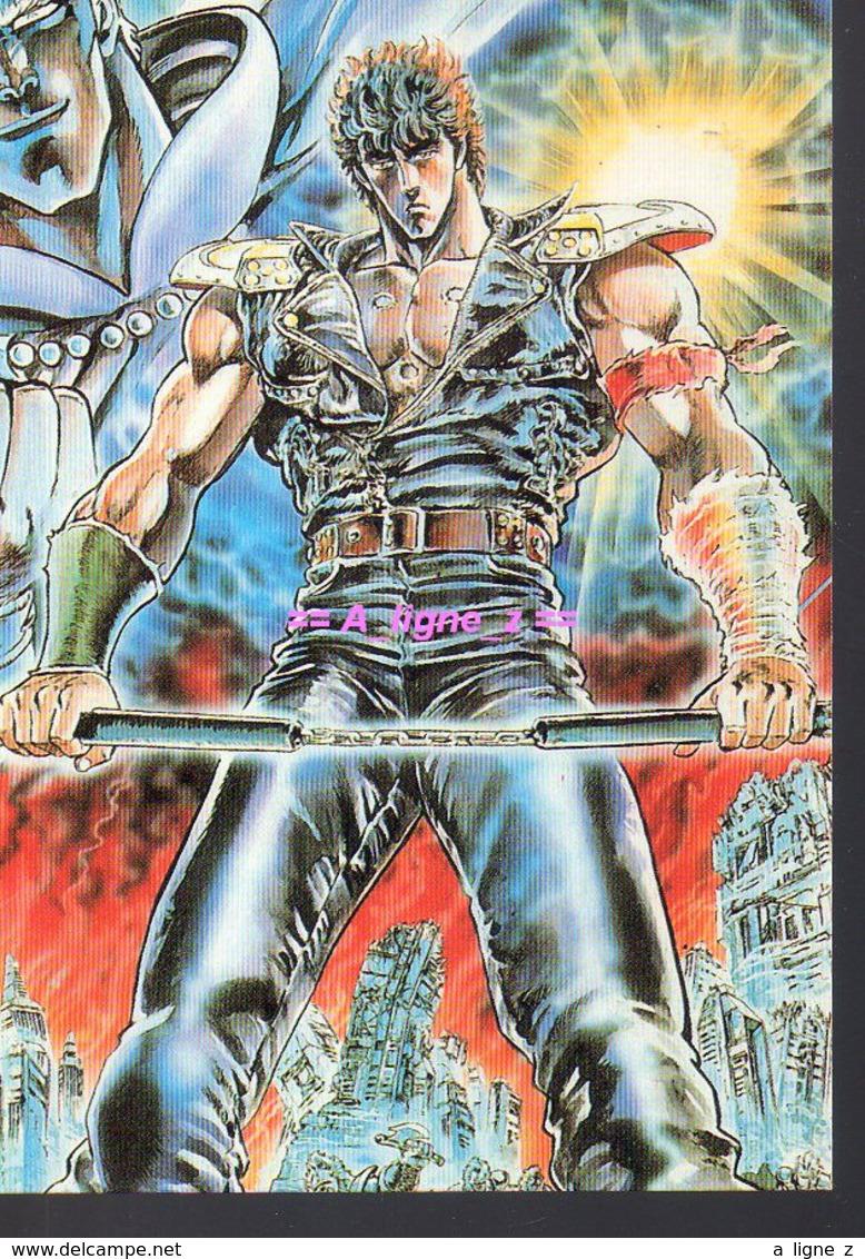 REF 436 : CPM BD Bande Dessinée Manga Ken Le Survivant - Comicfiguren