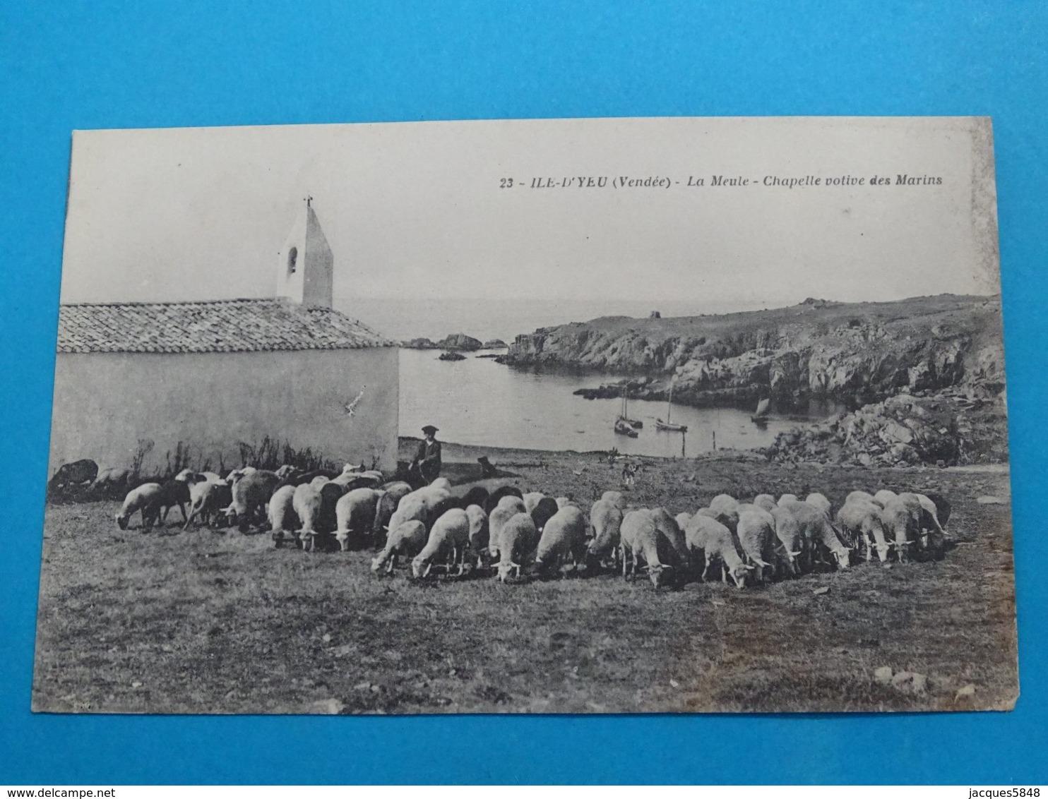 85 ) Ile-d'yeu - N° 23 - La Meule - Chapelle Votive Des Marins - Année  - EDIT - - Ile D'Yeu