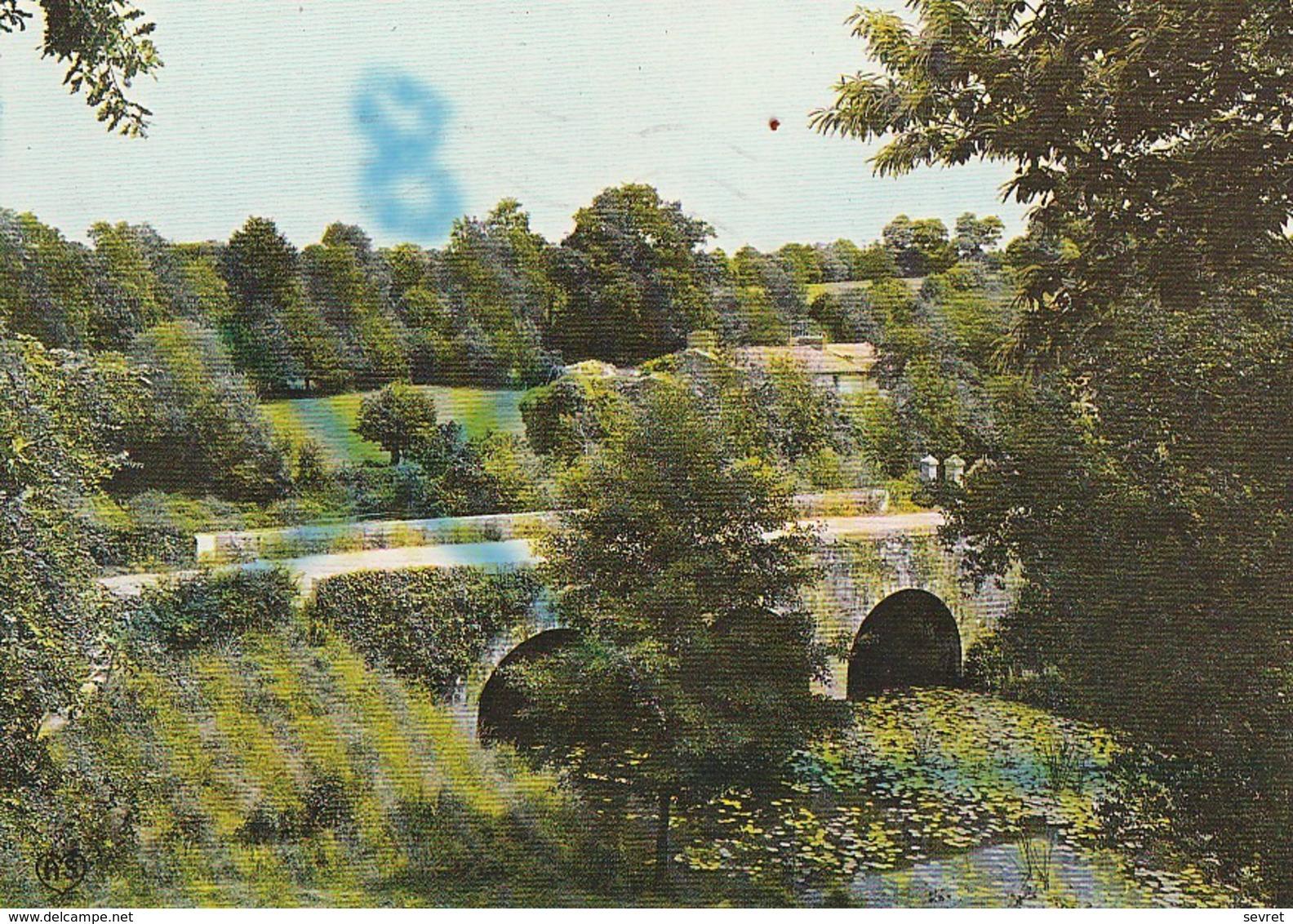 LES LUCS-SUR-BOULOGNE. -  Pont Sur La Boulogne Et Le Village Du Chef Du Pont - Les Lucs Sur Boulogne