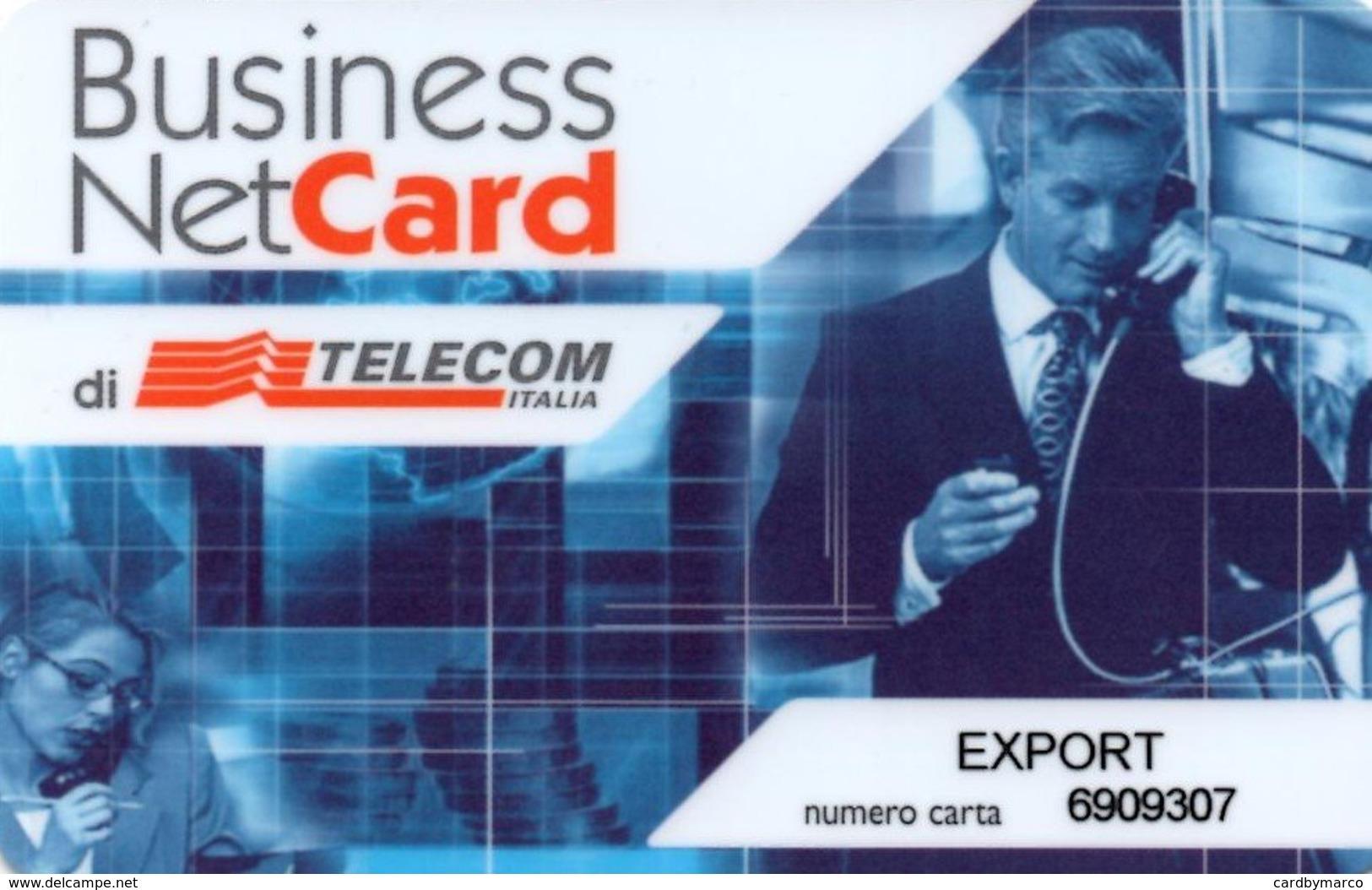 *ITALIA:TELECOM ITALIA - BUSINESS NET CARD* -  Scheda Usata - Italia
