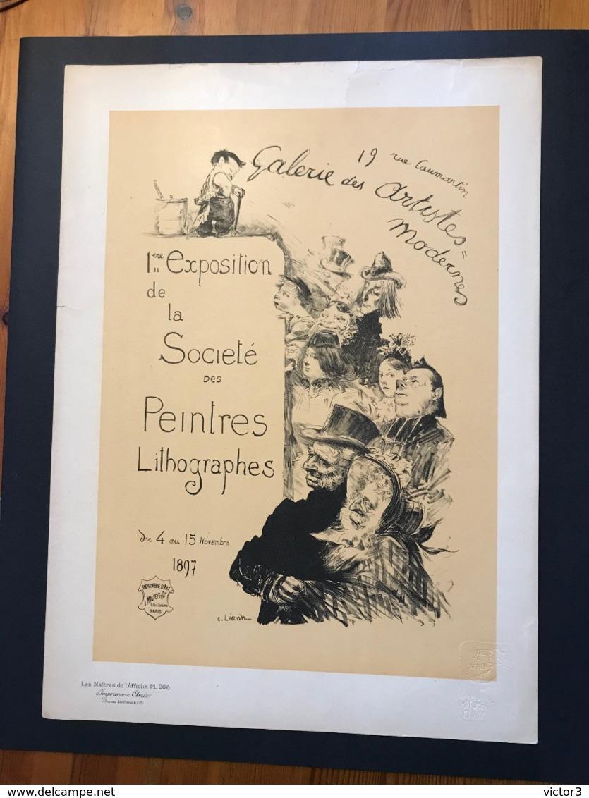 VERITABLE LES MAÎTRES DE L'AFFICHE PL 206 LEANDRE ART NOUVEAU - Affiches