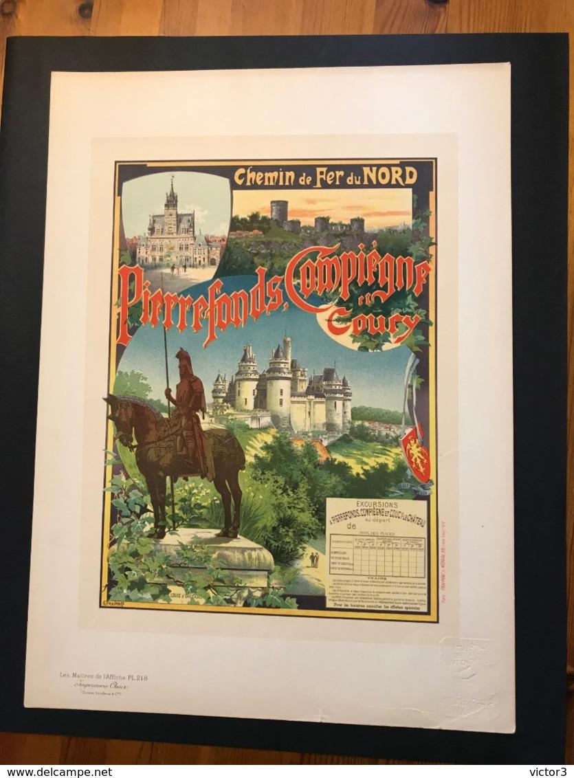 VERITABLE LES MAÎTRES DE L'AFFICHE PL 218 FRAIPONT ART NOUVEAU - Affiches