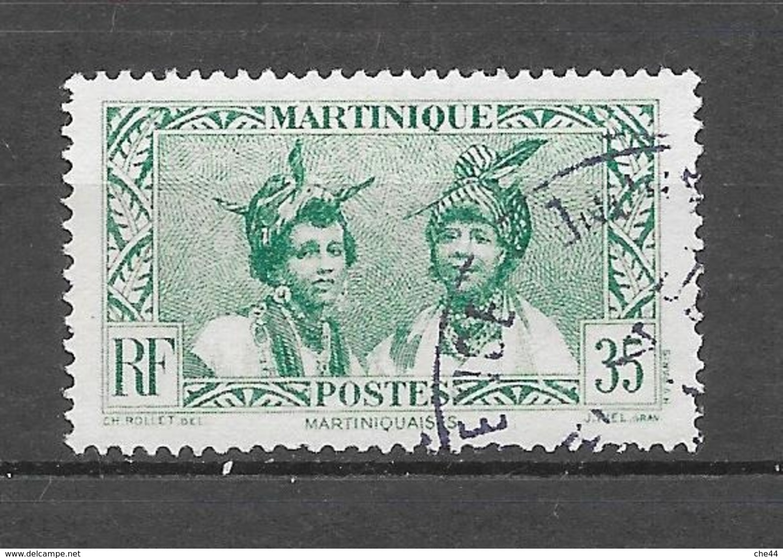 1933 - 38 : N°141A Chez Y Et T. (Voir Commentaire) - Oblitérés
