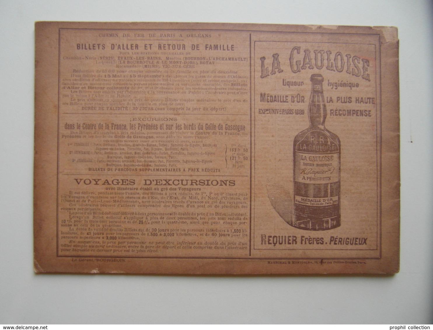 """FRANCE-ALBUM N° 30 """" ARRONDISSEMENT DE PERIGUEUX """" (1895) Avec NOMBREUSES GRAVURES PUBLICITÉS - DORDOGNE - Books, Magazines, Comics"""