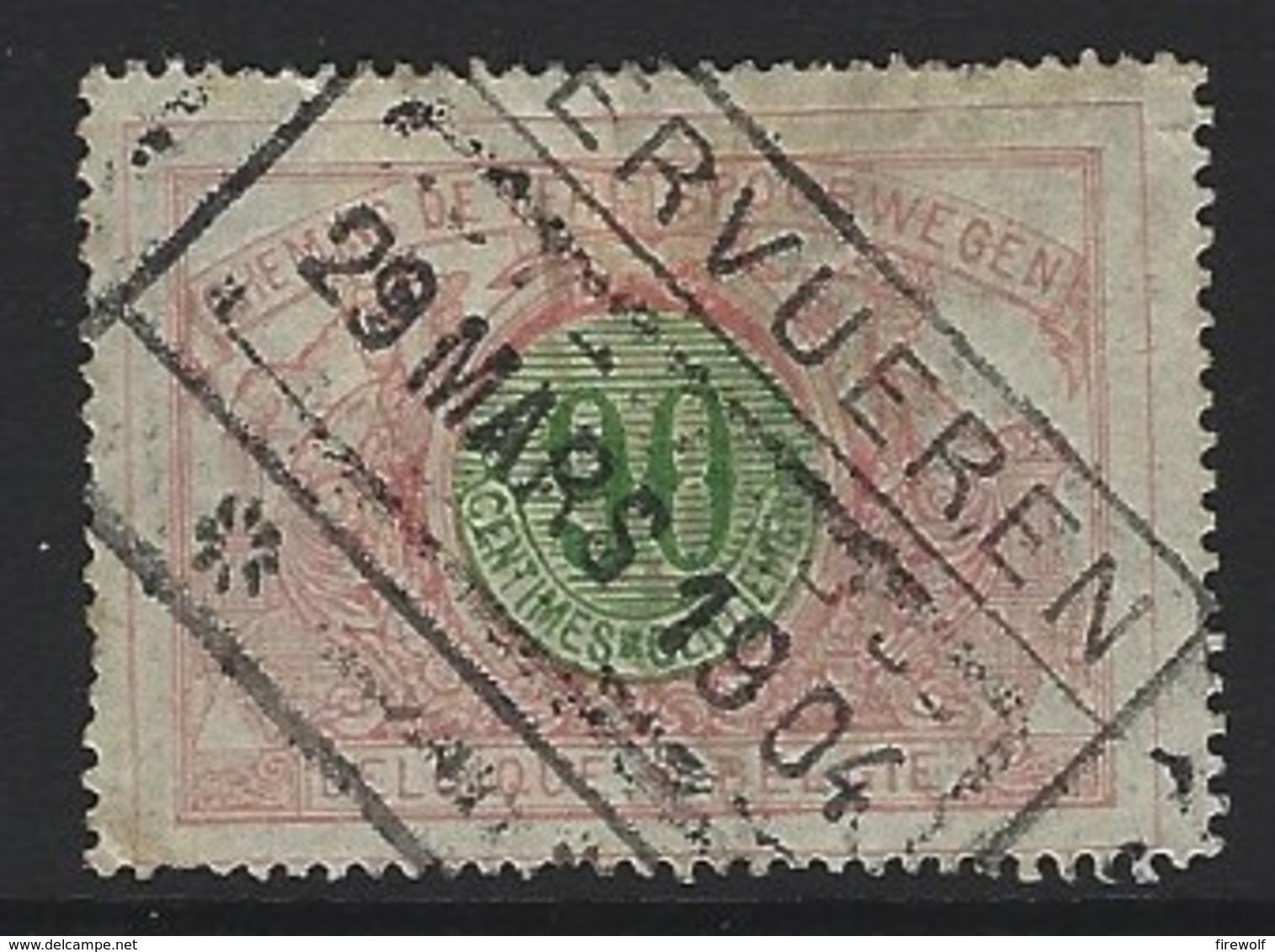 Y70 - Belgium - Railway Parcel Stamps - Used - Tervuren - Ohne Zuordnung