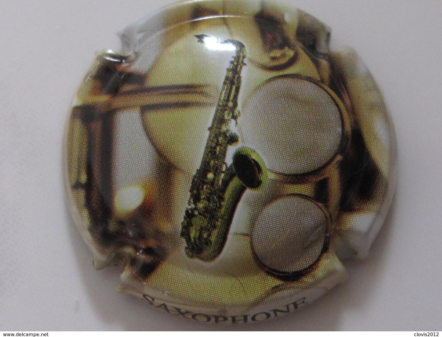 Capsules De Champagne Générique Instruments De Musique N°827 à827c - Verzamelingen