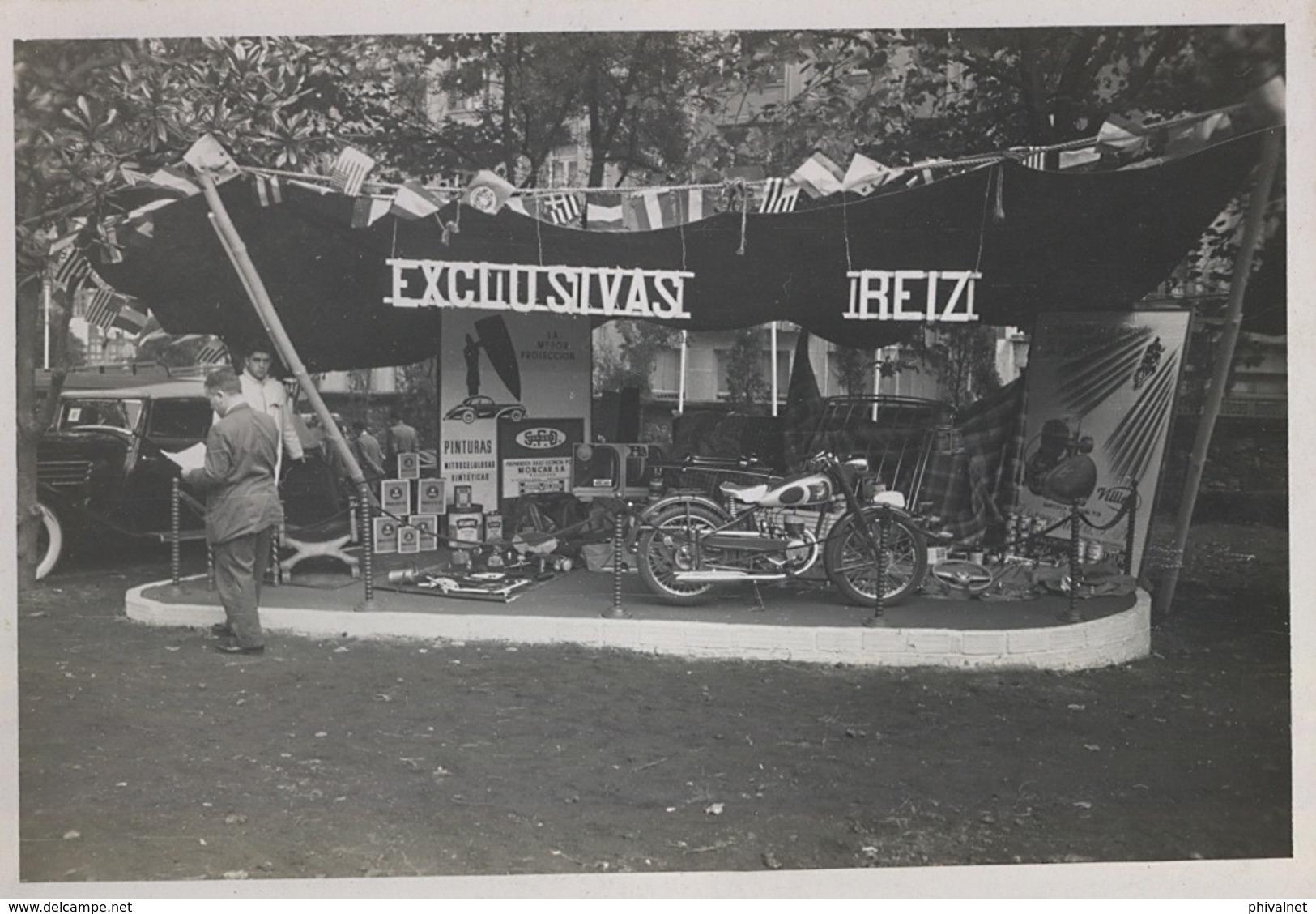 AÑOS 50 , MOTOCICLISMO , MOTOCICLETA , MOTO , MOTORCYCLE , MOTORRAD - ANTIGUA FOTOGRAFIA ORIGINAL - Otros
