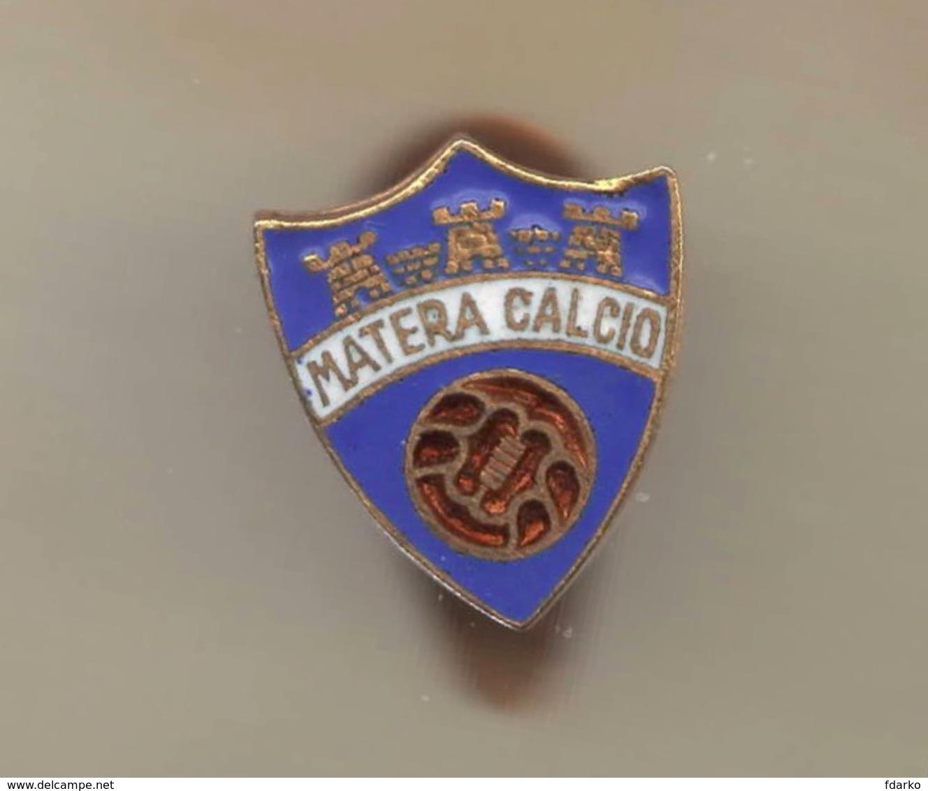 Matera Calcio Distintivi FootBall Soccer Pins Spilla Busellato Genova Italy - Calcio