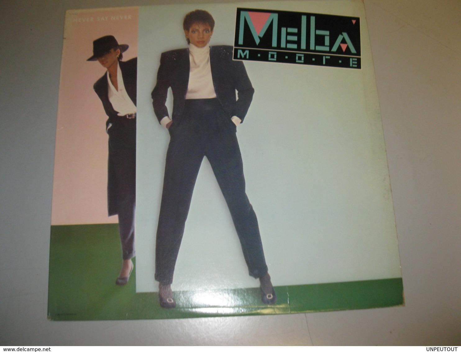"VINYLE MELBA MOORE ""NEVER SAY NEVER"" 33 T CAPITOL (1983) - Vinyl Records"