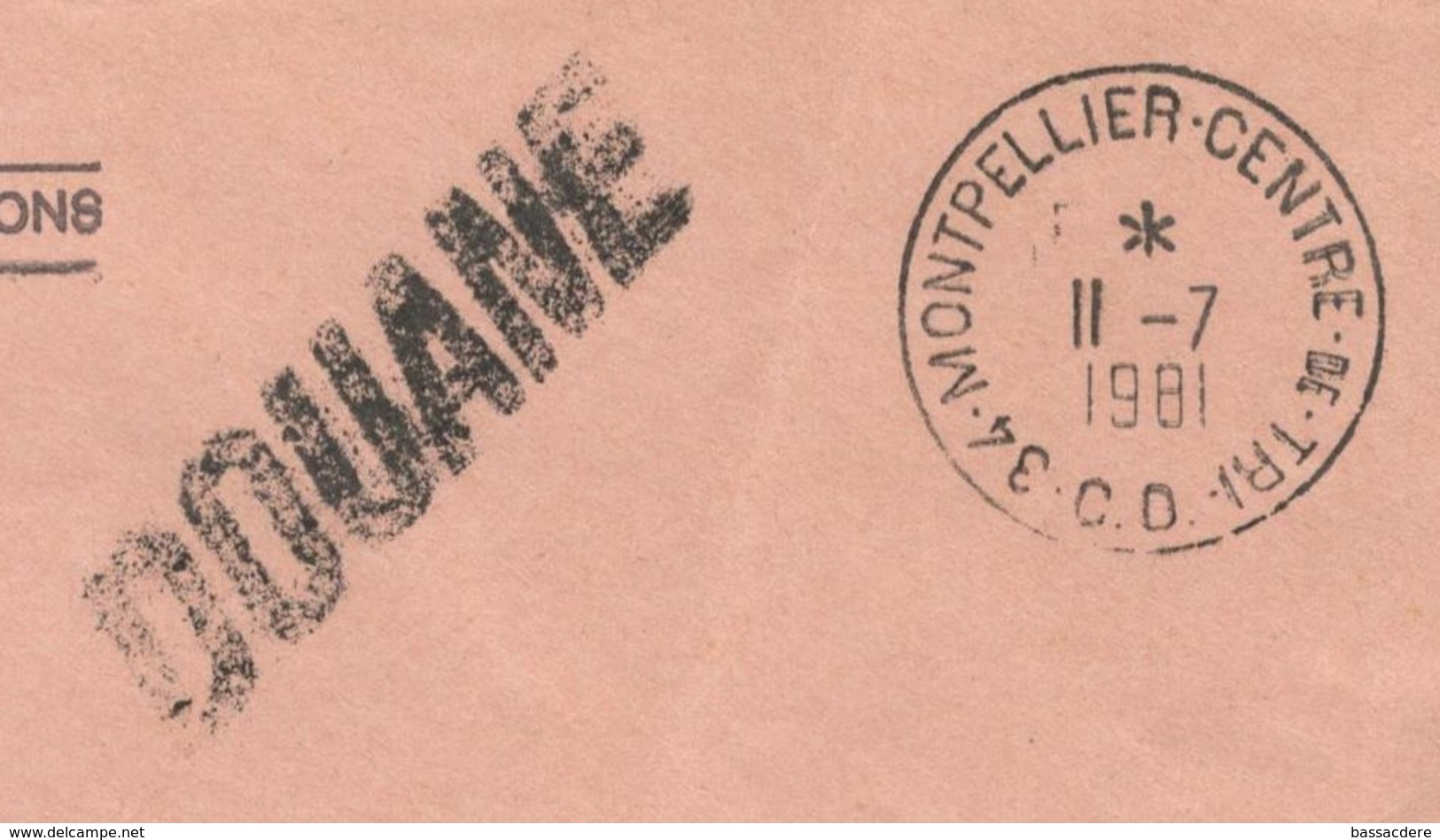 23603 - DOUANE - Postmark Collection (Covers)